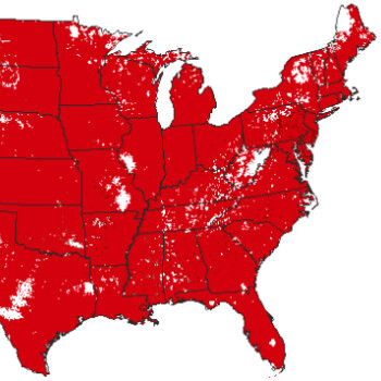 Best US carrier? This Verizon vs AT&T vs T-Mobile vs Sprint coverage maps GIF tells all