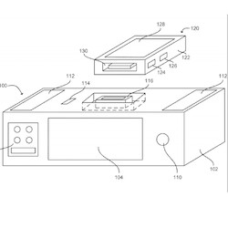 Picture from Apple received patents for a voice-operated iPhone dock, a new emergency dial method, and more