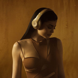 Apple launched special edition Balmain-designed Beats that look stunning on Kylie Jenner