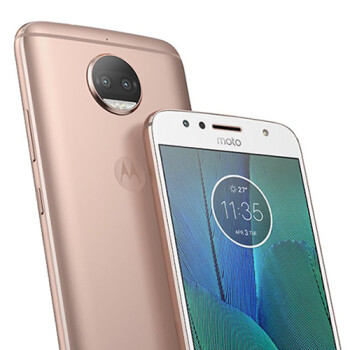 The Moto G5S Plus shows off its three color variants in leaked renders