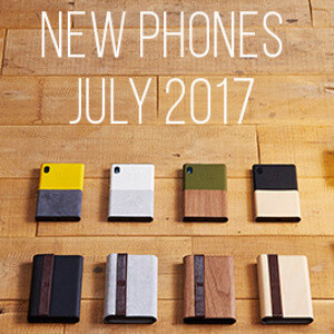 All new phones that arrived in July 2017