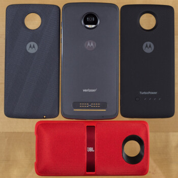Looking ahead: any Moto Mod you buy now will be supported by the Moto Z3, but maybe not the Z4