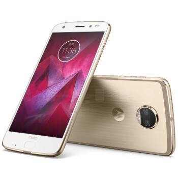 The Moto Z2 Force Edition's