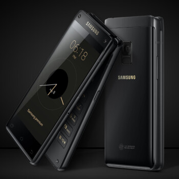 Meet the exotic new Samsung flip phone