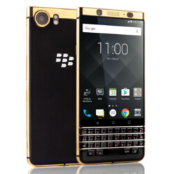 Pre-order a gold plated BlackBerry KEYone from Axiom starting today