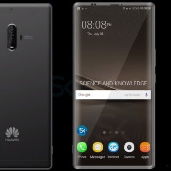 Huawei sees the LG FullVision and Samsung Infinity, raises them 'EntireView Display' for Mate 10