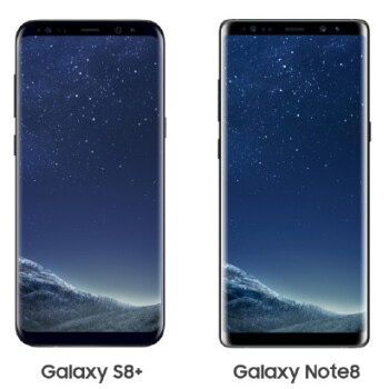 Note 8 vs Galaxy S8+: all major differences to expect