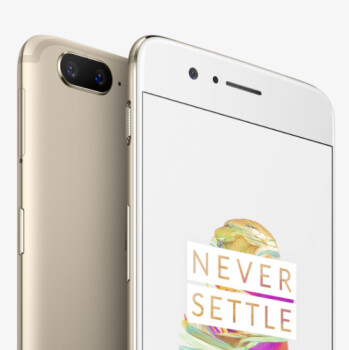OnePlus 5 is now available in lush Soft Gold