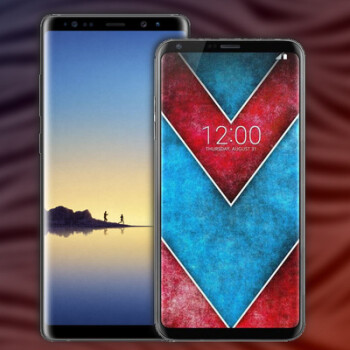 Galaxy Note 8 vs LG V30: both big and powerful, but here's how they'll differ