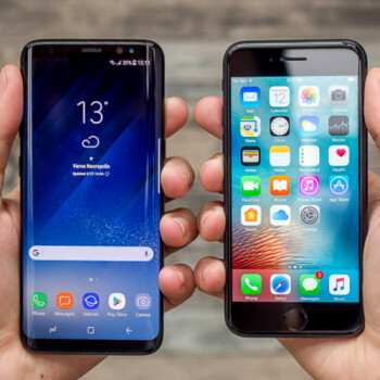 Samsung beats Apple for the US market share crown, but S8 not in the top three