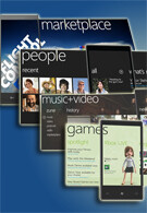 Windows Phone 7 Series as a Hub-based operating system