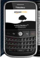 Amazon is now offering a free download for their Kindle for BlackBerry app