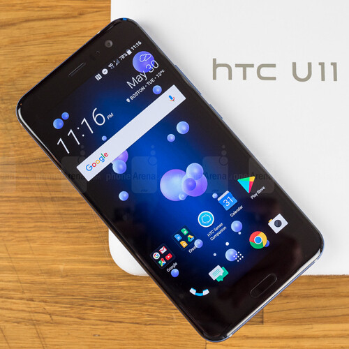 New HTC U11 update featuring support for Bluetooth 5 0 and 60 fps