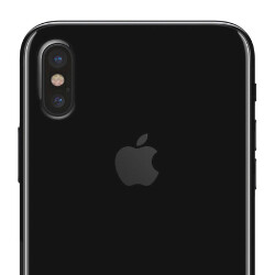 iPhone 8 production line shot with potato cam, we see a lot of back panels