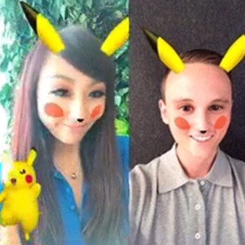 Snapchat introduces Pikachu filter, available for a limited time
