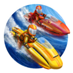 Picture from Riptide GP2, one of the best racing games for iPhone and Android, is now free