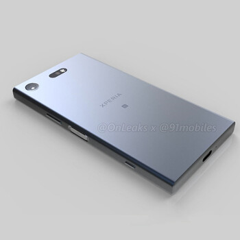 First-ever render of the Sony Xperia XZ1 Compact shows a familiar-looking device