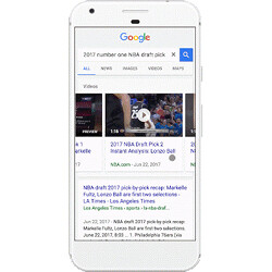 Video previews will now appear in Google search results on Android