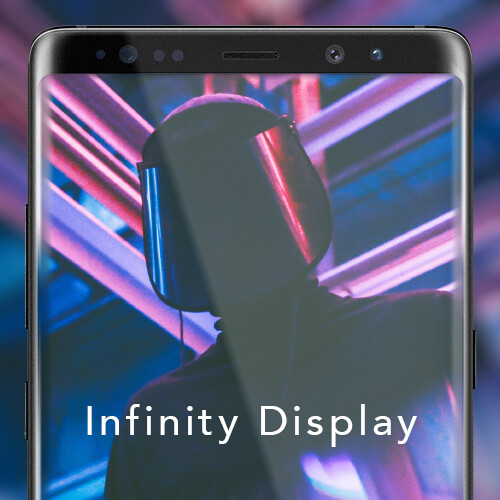 Galaxy note 8 infinity display wallpapers voltagebd Image collections