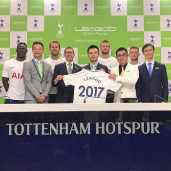 Going international: Leagoo partners up with UK club Tottenham Hotspur