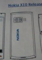 Nokia X10 revealed to be a Symbian^3 handset?