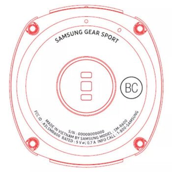 Samsung Gear Sport shows up in leaked promo material, will offer 5 ATM water resistance