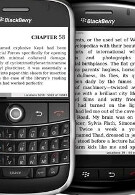 Kindle app for BlackBerry gives businessmen the chance to read on the fly