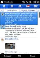 Windows Mobile lands Facebook 1.2