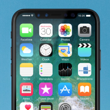 The iPhone 8 will wear its display