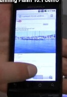 Another video of the Motorola DROID with Flash 10.1