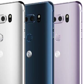 New LG V30 leak reveals four color variants, B&O Play logo on the back