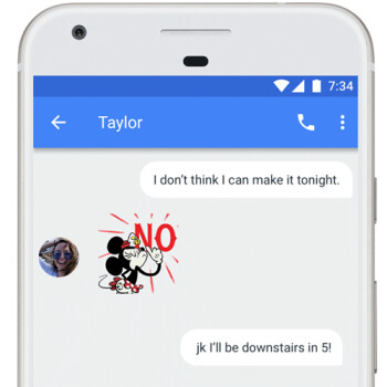 Gboard for Android updated with downloadable stickers and Bitmoji support