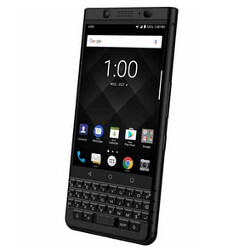 Space Black BlackBerry KEYone is exclusive to AT&T and it launches today