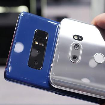 Samsung Galaxy Note 8 vs. LG V30: quick camera comparison