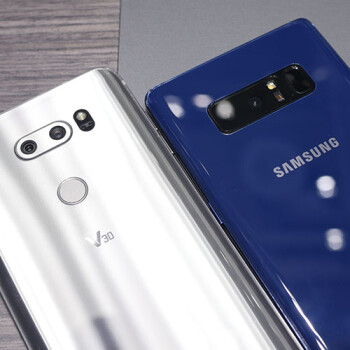 LG V30 vs. Samsung Galaxy Note 8: first-look ultra-widescreen phablet comparison