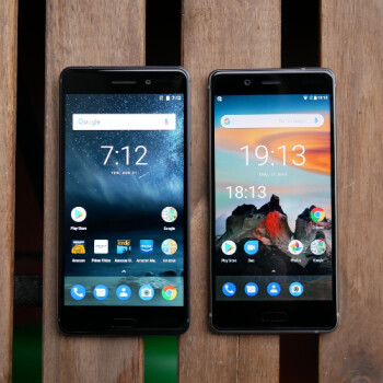 Nokia 8 vs Nokia 6 first look