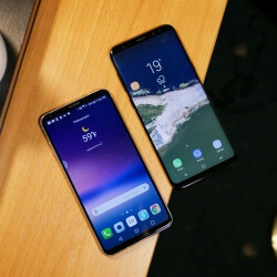 LG V30 vs Samsung Galaxy S8+ first look comparison