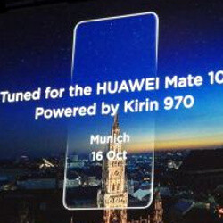 Huawei Mate 10 and Mate 10 Pro will be powered by Kirin 970