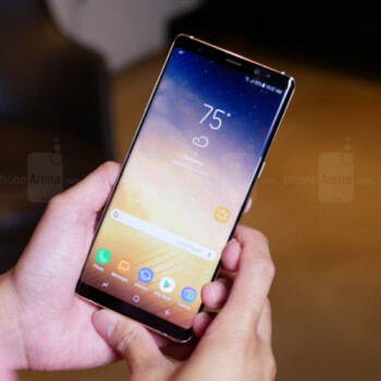 Some Sprint and Verizon customers will receive their Samsung Galaxy Note 8 phones much earlier