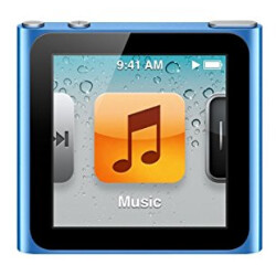 Sixth-generation Apple iPod nano is no longer supported by Apple