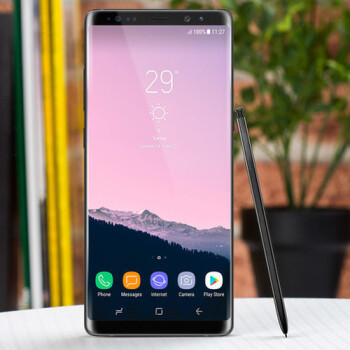 How to take a screenshot on the Samsung Galaxy Note 8