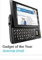 Motorola DROID is Engadget's Gadget of The Year