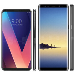 Galaxy Note 8 or LG V30: which one has your eye (and potentially your money?)