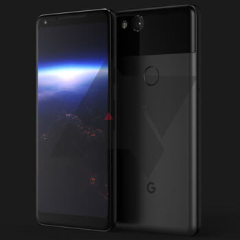 Pixel 2 supposedly features IP68 water resistance, 64GB/128GB storage, always on display