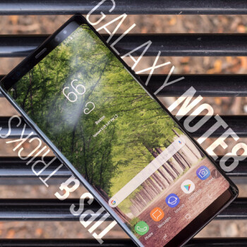 Samsung Galaxy Note 8: tips and tricks