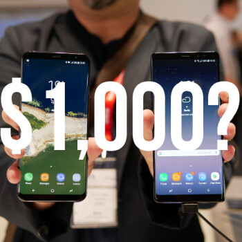 It's nuts to buy phones around the $1,000 range, right?