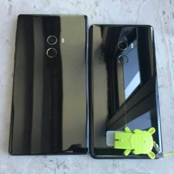 See how the new Xiaomi Mi Mix 2 compares in size to the original Mi Mix
