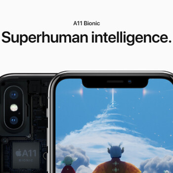 iPhone X beats Macbook Pro in benchmarks