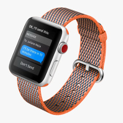 Apple Watch Series 3 requires an iPhone 6 or later for setup; battery gets 1 hour of talk time