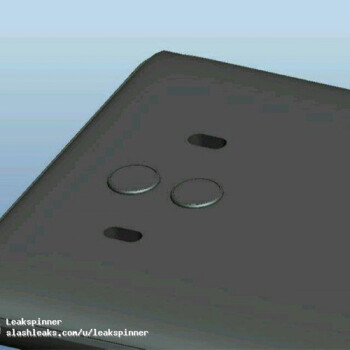 Alleged CAD renders of the Huawei Mate 10 Lite surface with a 16:9 screen and dual cameras (Update)